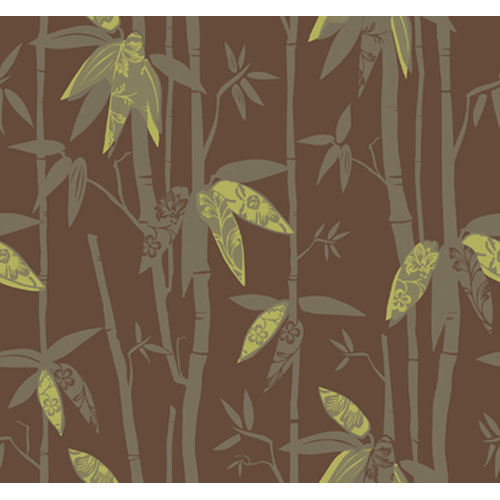 By The Sea Bamboo Shoot Wallpaper: Sample Swatch Only