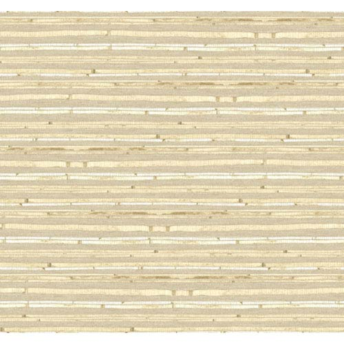 York Wallcoverings By The Sea Woven Bamboo Wallpaper