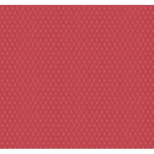 York Wallcoverings Veranda Soft Raspberry and Coral Geometrics Harlequin Wallpaper: Sample Swatch Only