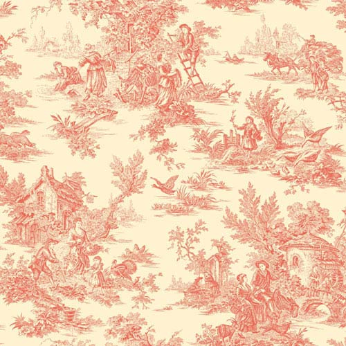 Ashford Toiles Campagne Removable Wallpaper- Sample Swatch Only