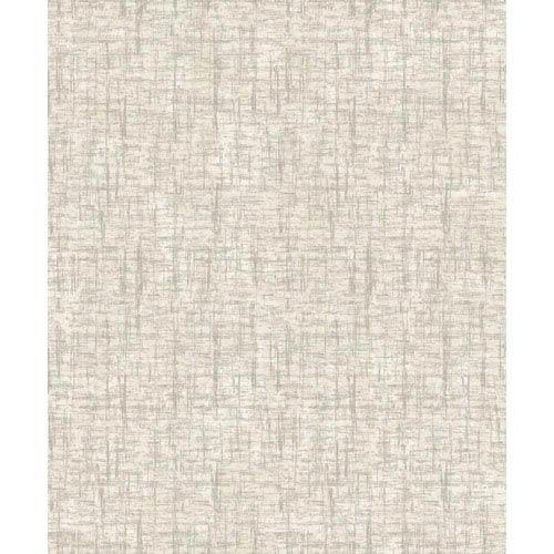 Mixed Metals Barkcloth Wallpaper- Sample Swatch Only