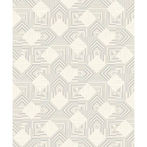 York Wallcoverings Mixed Metals Navajo Wallpaper