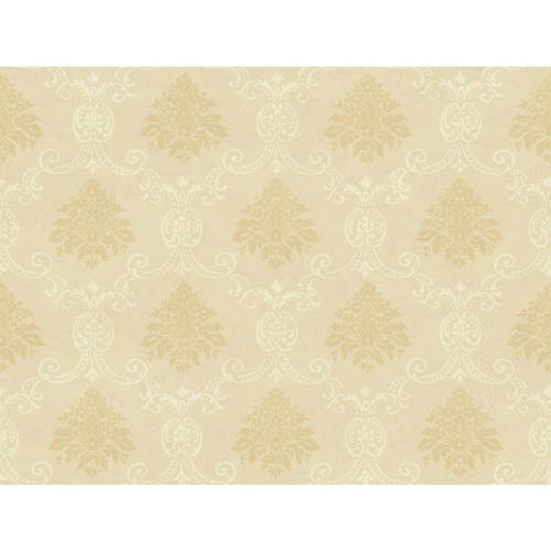 Inspired by Color Light Tan and Pearl Wallpaper