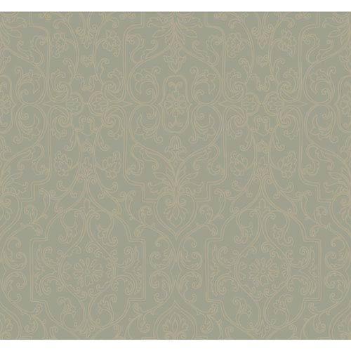 Antonina Vella Green Kashmir Palace Gates Wallpaper
