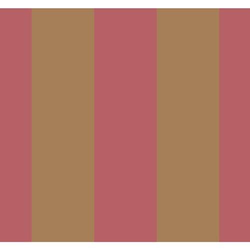 Antonina Vella Orange Kashmir Caravan Stripe Wallpaper: Sample Swatch Only