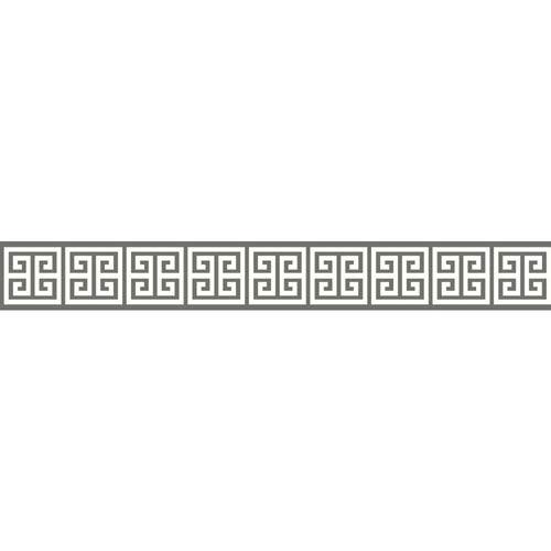 Border Portfolio II Meander Removable Wallpaper Border- Sample Swatch Only