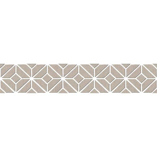 York Wallcoverings Border Portfolio II Aegean Removable Wallpaper Border