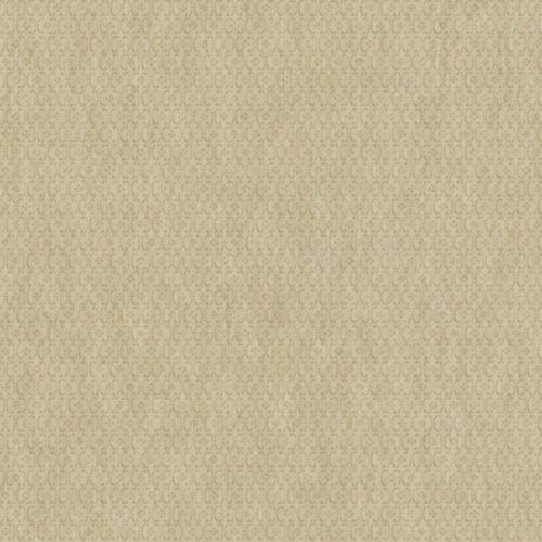 Saint Augustine Shiny Tan and Silver Sheen Embroidered Geometric Wallpaper: Sample Swatch Only