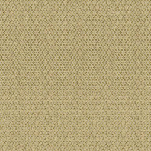York Wallcoverings Saint Augustine Shiny Beige and Gold Sheen Embroidered Geometric Wallpaper: Sample Swatch Only