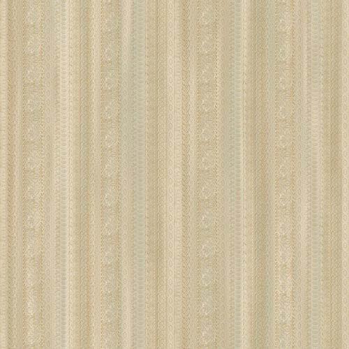 York Wallcoverings Saint Augustine Eggshell, Cream and Sea Spray Blue Lace Sidewall Wallpaper