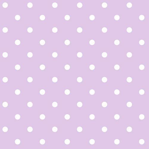 York Wallcoverings Room To Grow Light Purple and White Circle Wallpaper