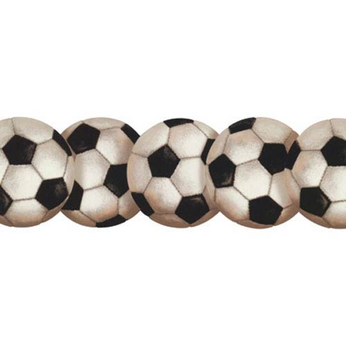 Brothers and Sisters Four Soccer Ball Border