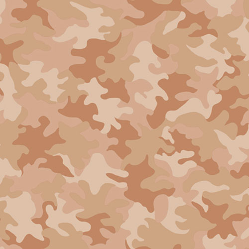 Brothers and Sisters Four Camouflage Design Wallpaper: Sample Swatch Only