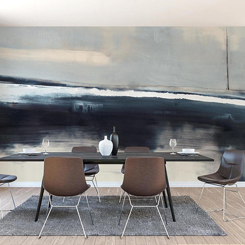 Carol Benson-Cobb Grounded Navy Wallpaper Mural