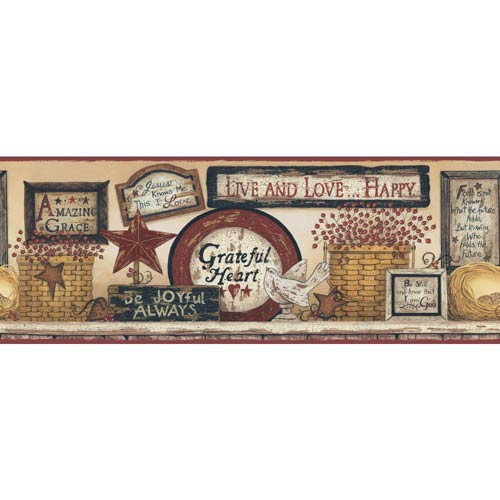 York Wallcoverings Inspired by Color Golden, Red Burgundy and Black Wallpaper: Sample Swatch Only