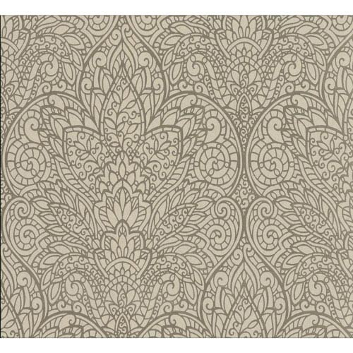 York Wallcoverings Candice Olson Decadence Paradise Wallpaper
