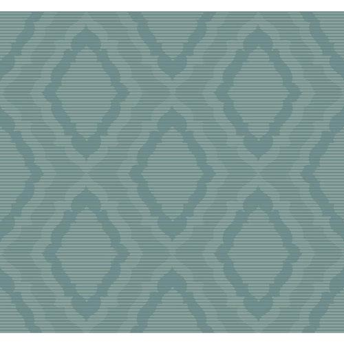 York Wallcoverings Candice Olson Decadence Amulet Wallpaper- Sample Swatch Only