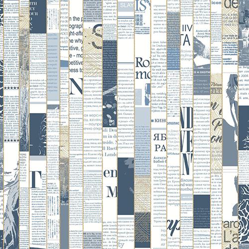 York Wallcoverings Culture Club Navy Blue Wallpaper