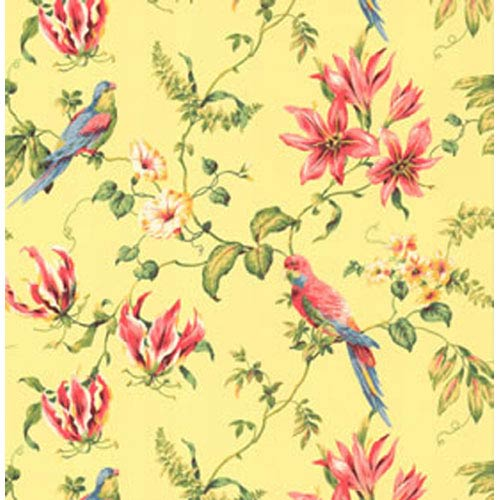 York Wallcoverings By The Sea Tropical Bird Wallpaper