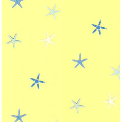 By The Sea Starfish Wallpaper: Sample Swatch Only