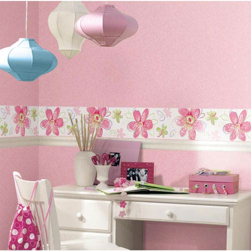 York Wallcoverings Inspired by Color Pastel Wallpaper: Sample Swatch Only
