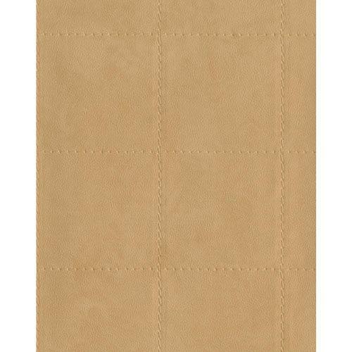 York Wallcoverings Menswear Checkmate Beige Wallpaper