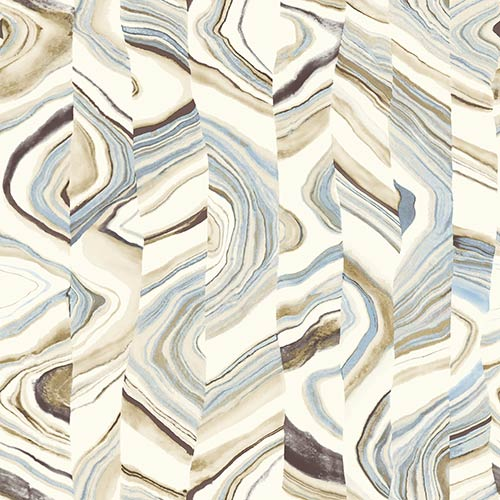 Agate Stripe Sand Wallpaper- Sample Swatch Only