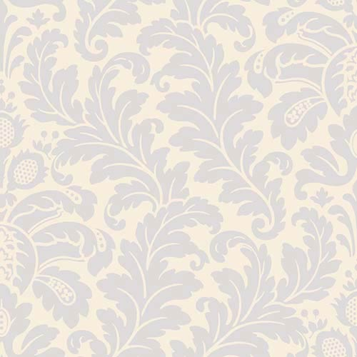 York Wallcoverings Candice Olson Shimmering Details Beige Damask Wallpaper: Sample Swatch Only
