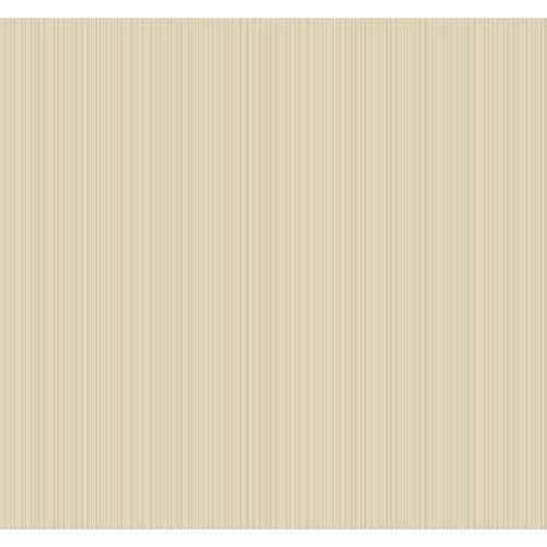 York Wallcoverings Candice Olson Embellished Surfaces Dove and Soft Gold Charisma Wallpaper: Sample Swatch Only