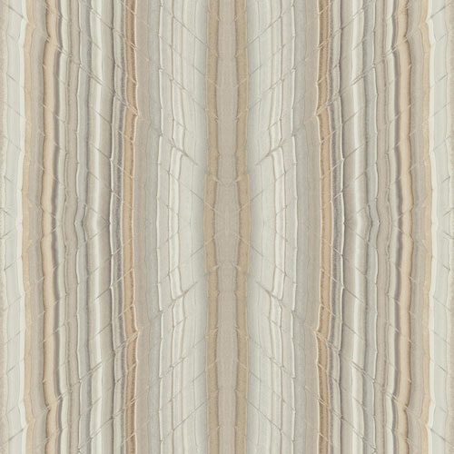 York Wallcoverings Candice Olson Breathless Festival Brown and Off White Wallpaper - SAMPLE SWATCH ONLY