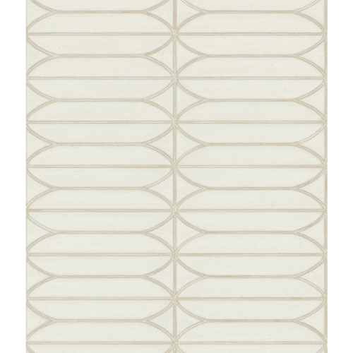 Candice Olson Breathless Pavilion Cream and Beige Wallpaper