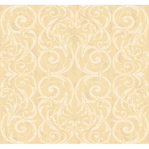 Georgetown Gallery Lacey Circular Scroll Background Wallpaper : Sample Swatch Only