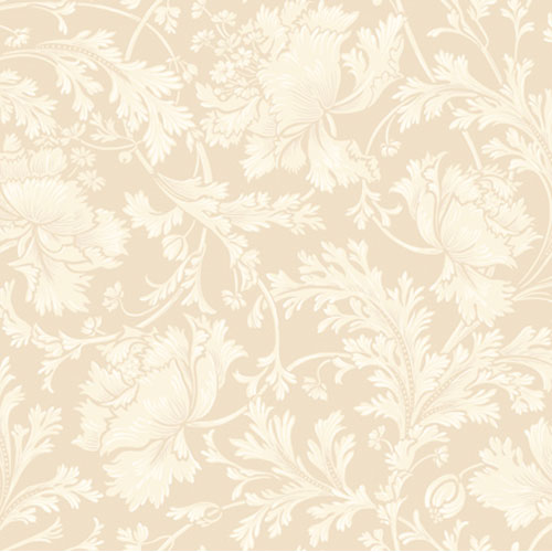 Georgetown Gallery Stylized Parrot Tulip Acanthus Wallpaper: Sample Swatch Only