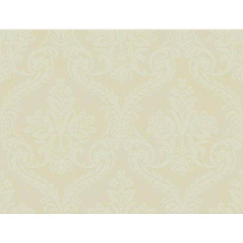 York Wallcoverings Inspired by Color Light Beige Metallic Wallpaper: Sample Swatch Only