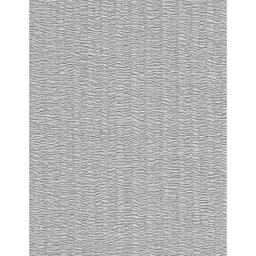 York Wallcoverings Candice Olson Dimensional Surfaces Gathered Fabric Stripe Wallpaper: Sample Swatch Only