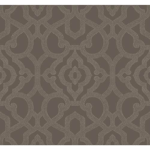 Candice Olson Modern Nature Grey Allure Wallpaper: Sample Swatch Only