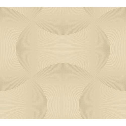 Candice Olson Modern Nature Grey and Metallic Gold Freestyle Wallpaper