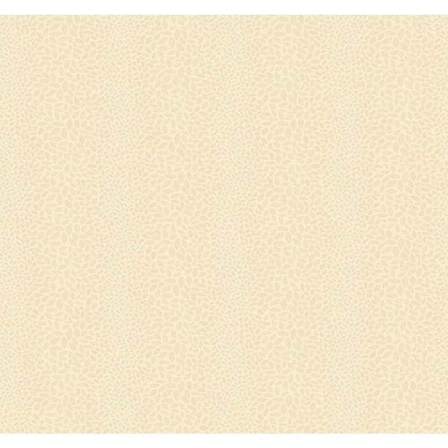 Candice Olson Modern Nature Pearly Gold and Cream Canopy Wallpaper