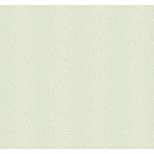 Candice Olson Modern Nature Soft Aquamarine and Taupe Canopy Wallpaper: Sample Swatch Only