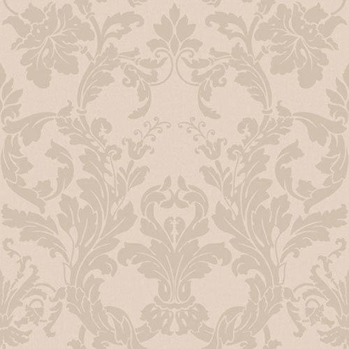 Georgetown Iridescent Acanthus Damask Wallpaper