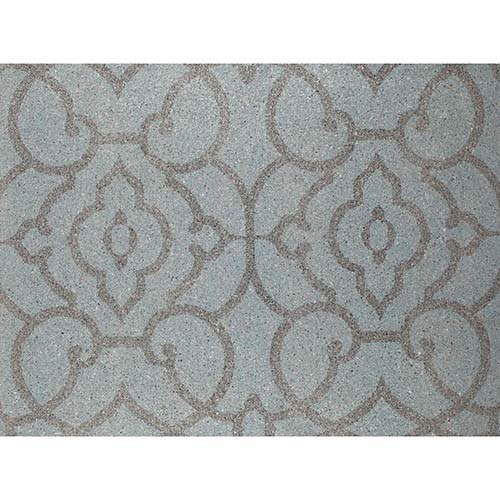 York Wallcoverings Candice Olson Shimmering Details Blue Grillwork Mica Wallpaper