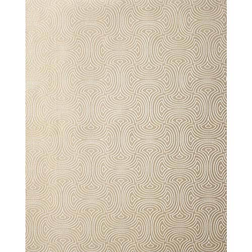 Candice Olson Shimmering Details Beige Hourglass Wallpaper