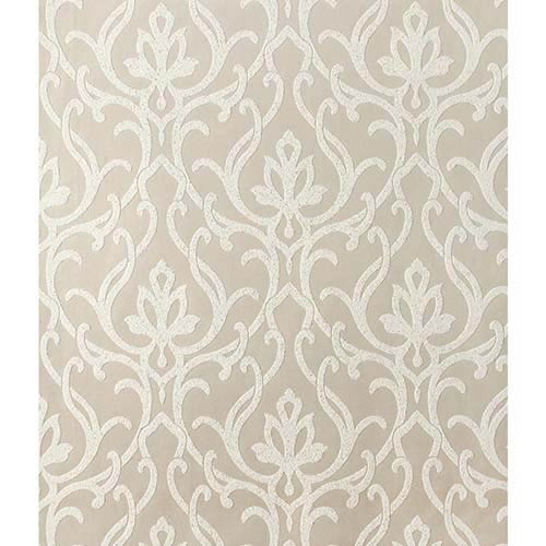 York Wallcoverings Candice Olson Shimmering Details Beige Dazzled Wallpaper