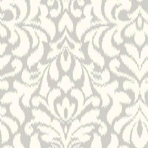 Candice Olson Shimmering Details Dark Metallic Whisper Wallpaper