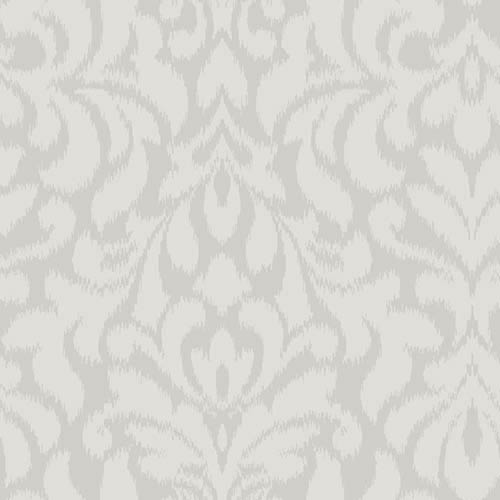 York Wallcoverings Candice Olson Shimmering Details Bright Metallic Whisper Wallpaper: Sample Swatch Only