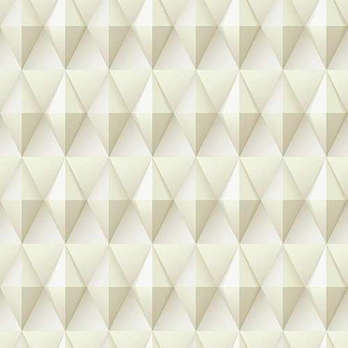 Dimensional Artistry Tan Paragon Geometric Wallpaper - SAMPLE SWATCH ONLY