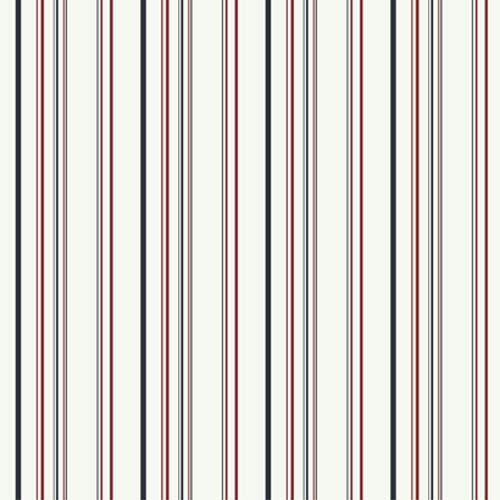 York Wallcoverings Walt Disney Kids Wild Multi-Colored Stripe Wallpaper: Sample Swatch Only