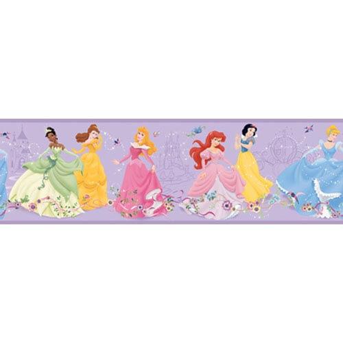 Walt Disney Kids Dancing Princess Border: Sample Swatch Only