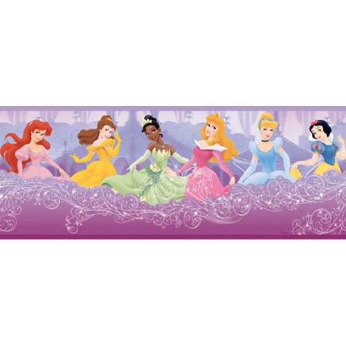 York Wallcoverings Walt Disney Kids Princess Frames Border: Sample Swatch Only