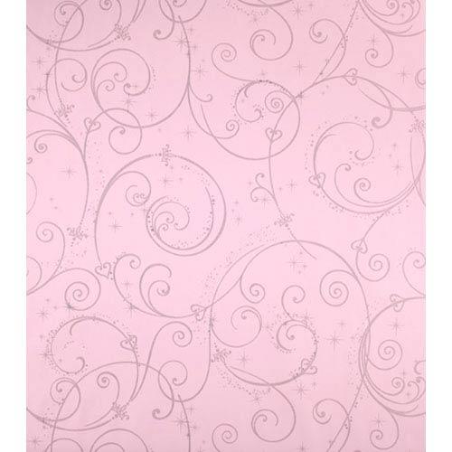 York Wallcoverings Walt Disney Kids Perfect Princess Scroll Wallpaper